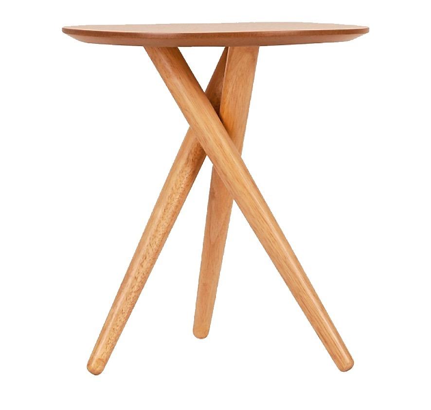 Sidobord i trä, höjd 43 cm, 794 kr Cult furniture.