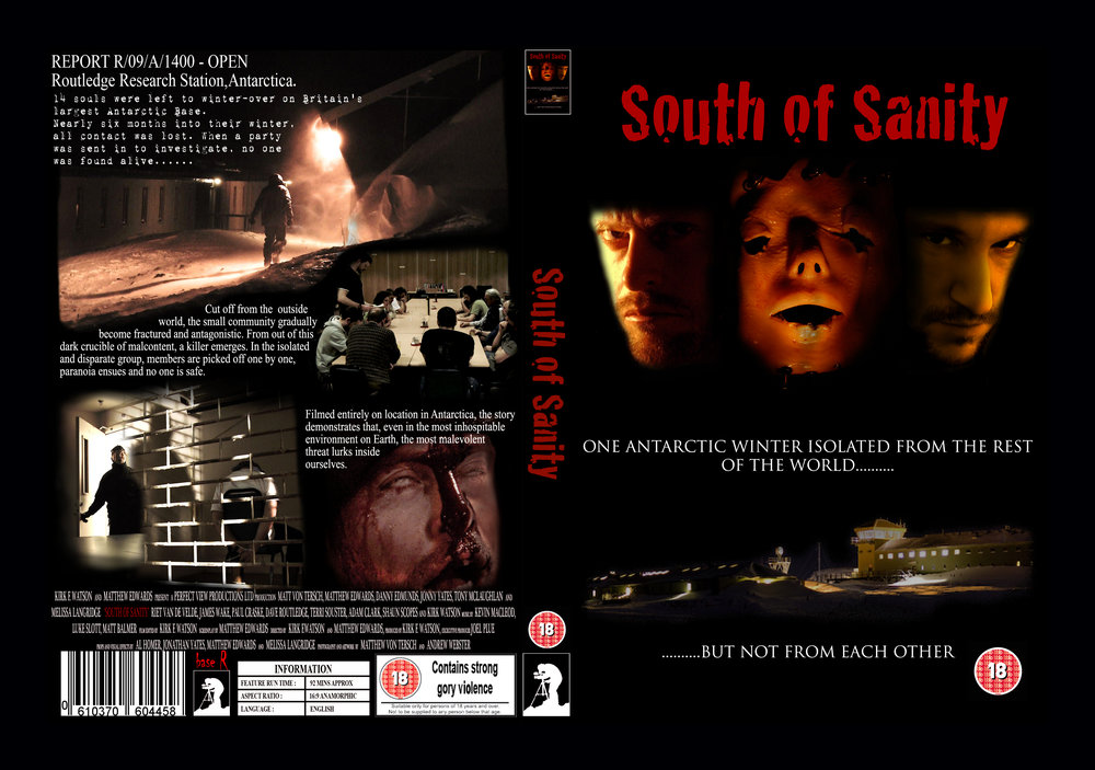 SOUTH OF SANITY DVD - £10 each just email me for a copy