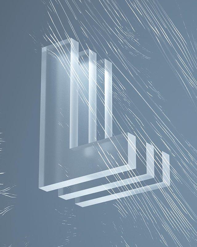 TransLucency @36daysoftype  #36daysoftype #36daysoftype_l #design #minimal #glass #xuxoe #digital #creative