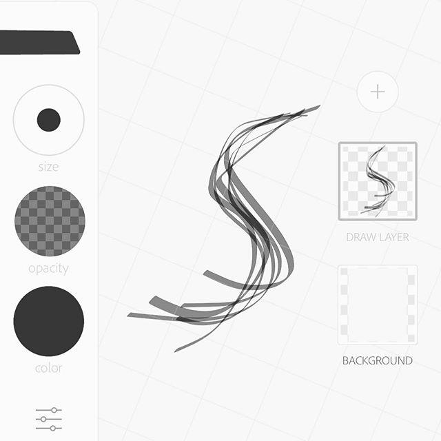 Sketch. _ #36daysoftype #36days_s #adobeillustrator #iphone #sketch #wireframe