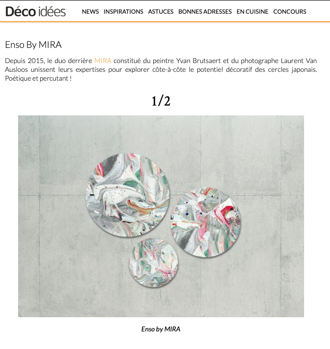 Enso by Mira Deco Idee Belgique Presse2.png