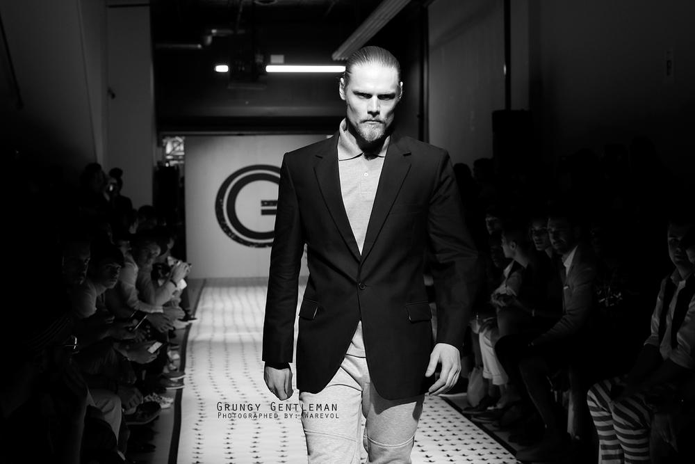 Grungy Gentleman Runway Show SS16