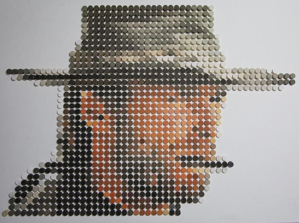 Clint Eastwood Pixel Art Tobias Batz