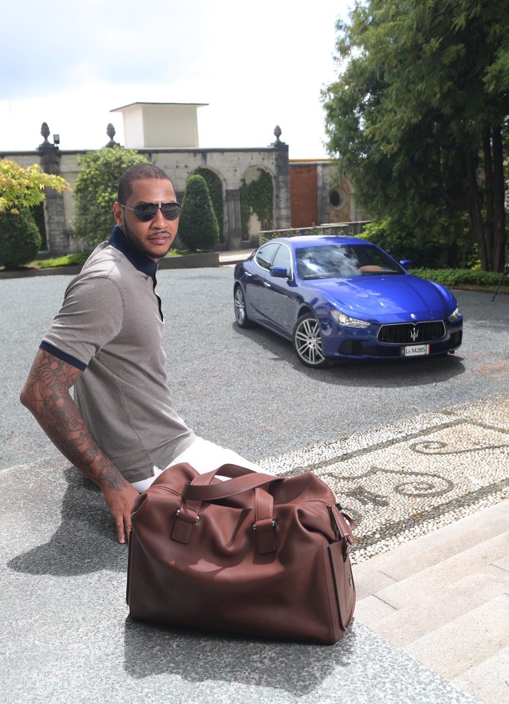 Carmelo Anthony Zegna Maserati 3.jpg