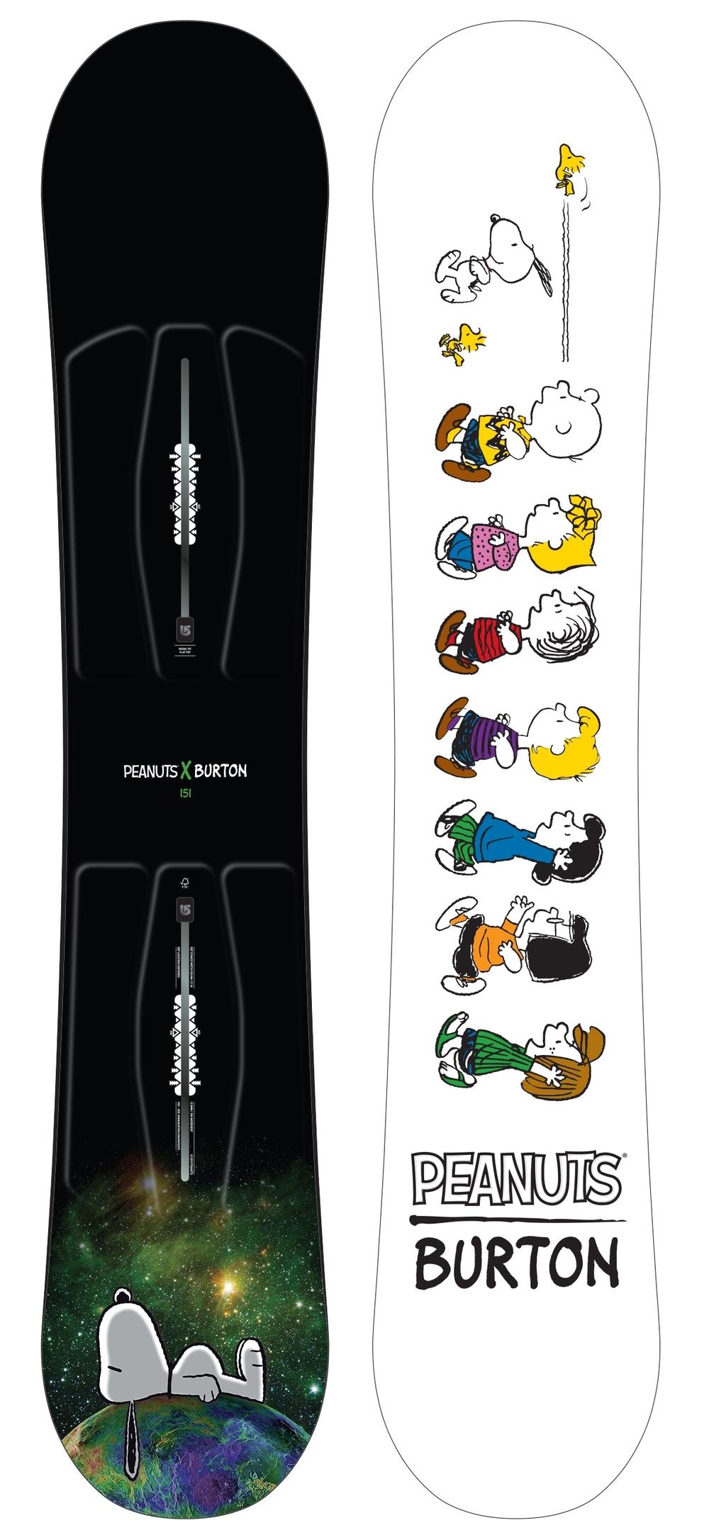 Burton x Peanuts® Social Snowboard, $420