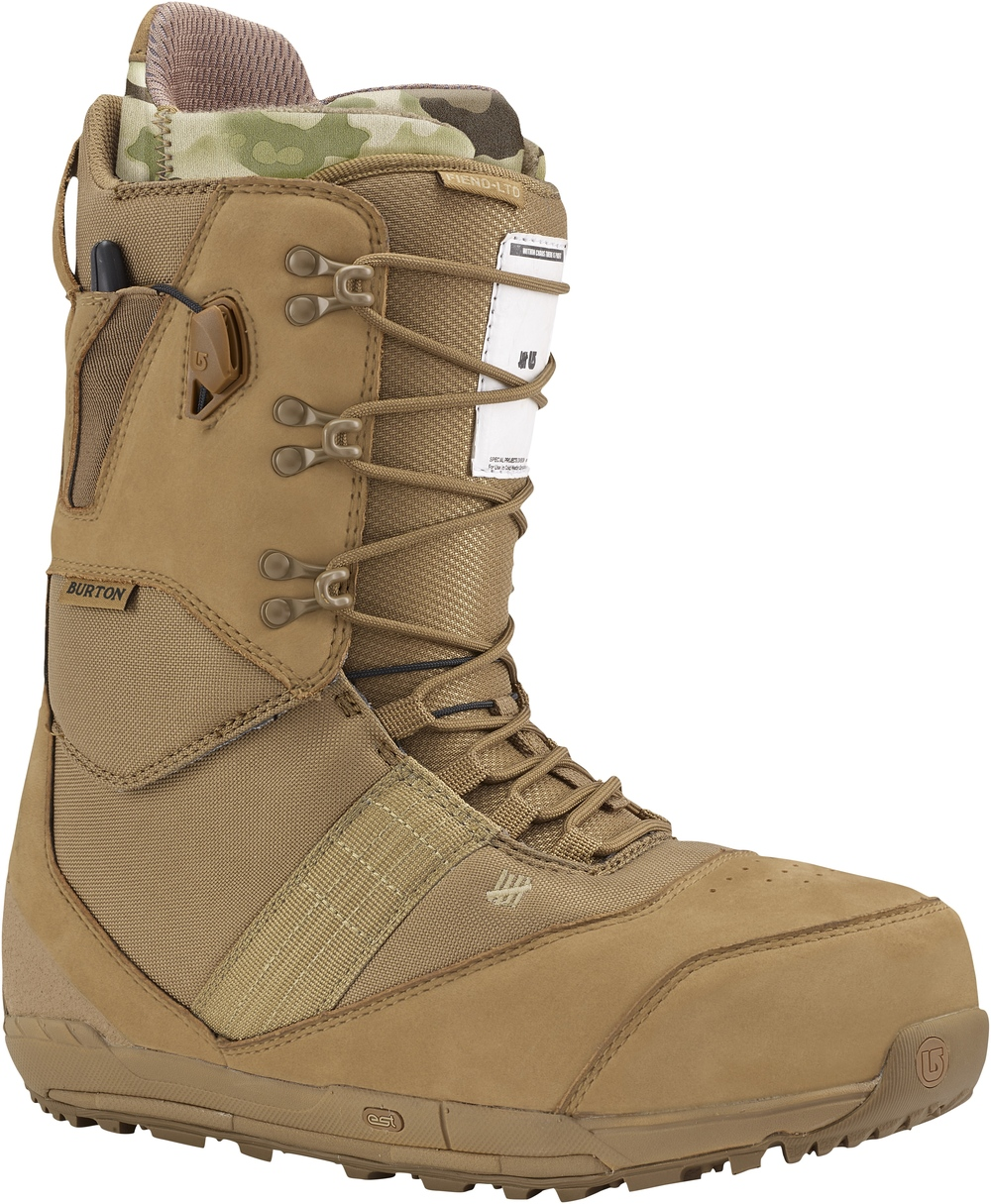 Burton x UNDEFEATED x Alpha Industries Fiend LTD Snowboard Boot, $300