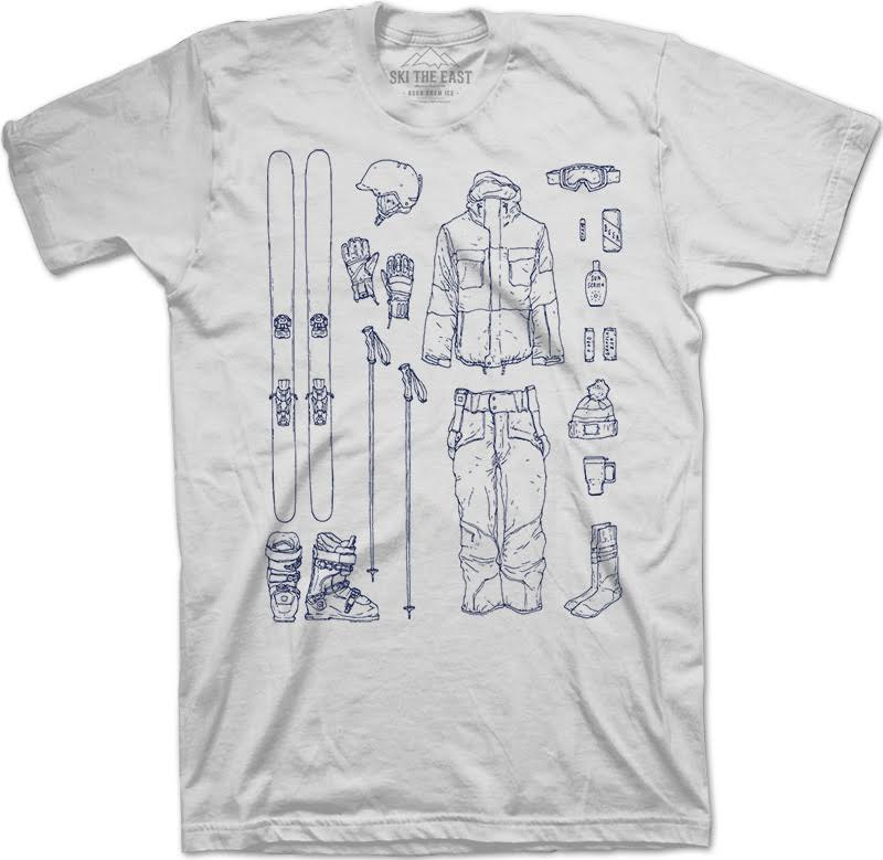 Ski The East Essentials T-Shirt, $27