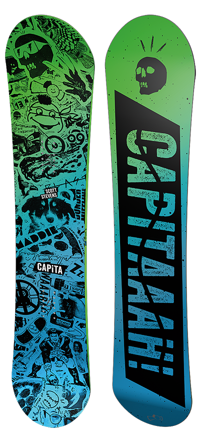 CAPiTA Scott Stevens Pro Snowboard, $500