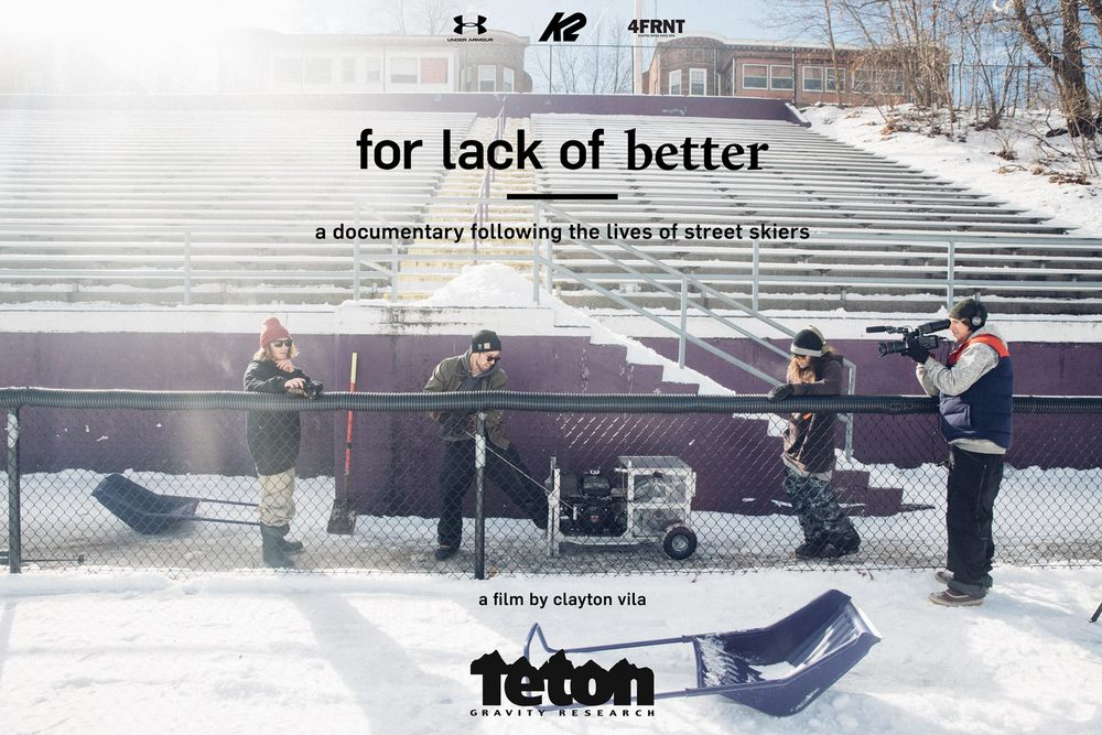 Teton Gravity Research Presents For Lack Of Better, $10
