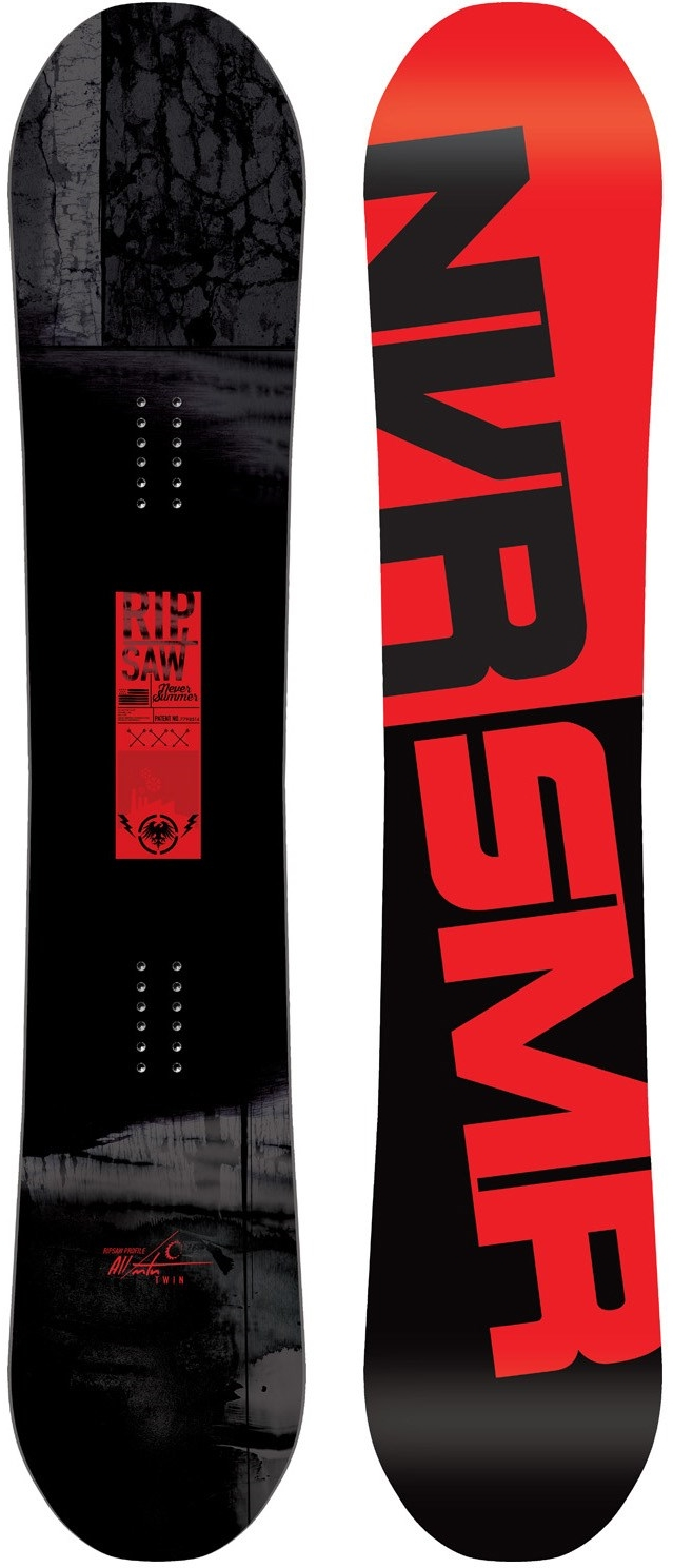 Never Summer Ripsaw Snowboard, $520