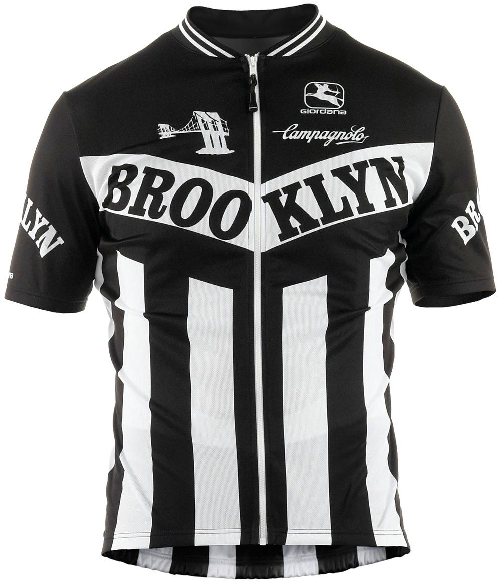 Giordana Team Brooklyn Vero Short Sleeve Jersey, $110