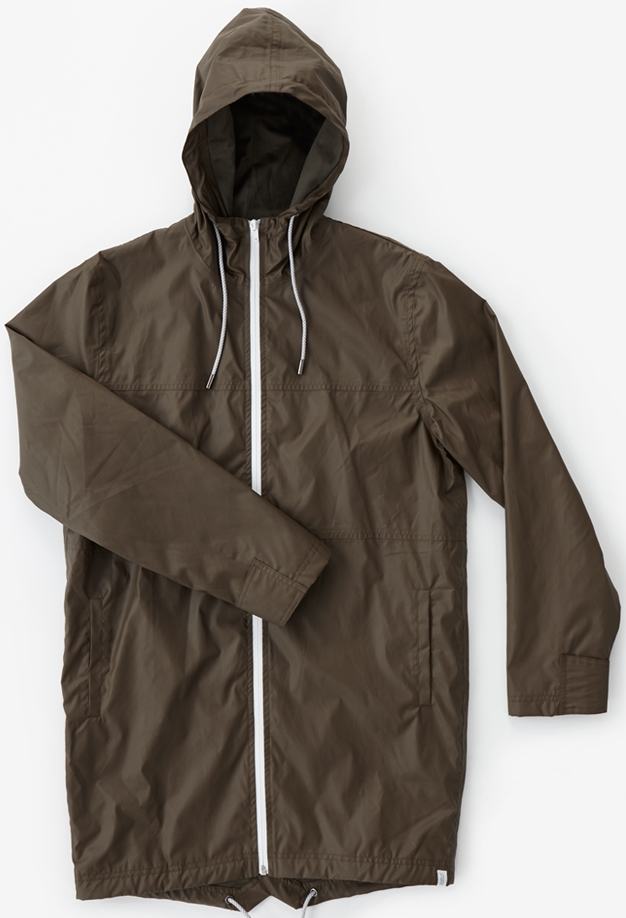 I Love Ugly Raincoat, $200