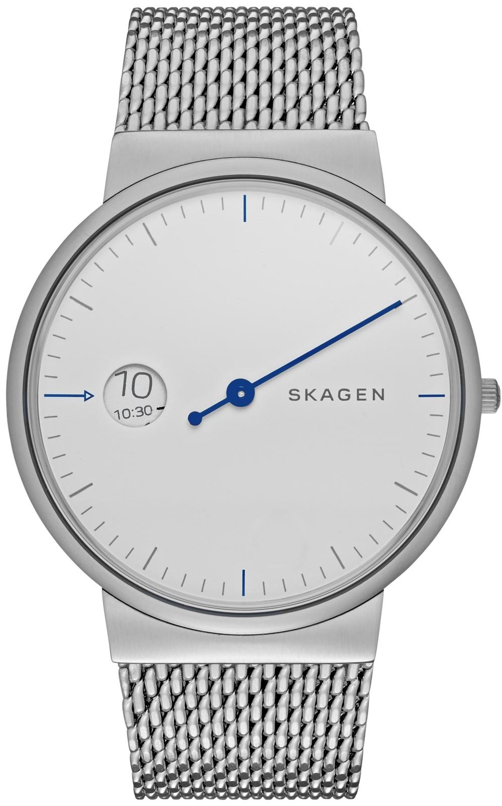 Skagen Ancher Mono Steel Mesh Watch, $175