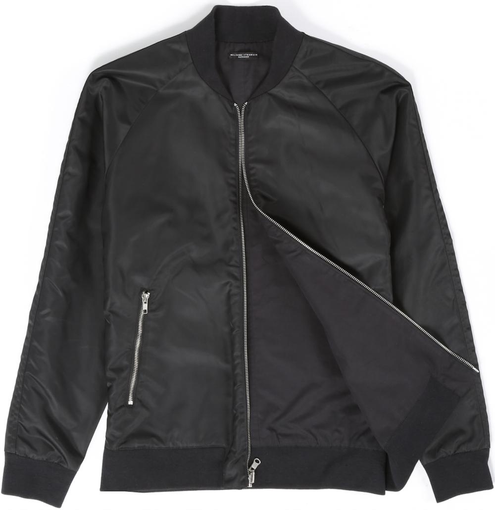 Welcome Stranger Reversible Bomber Jacket, $270
