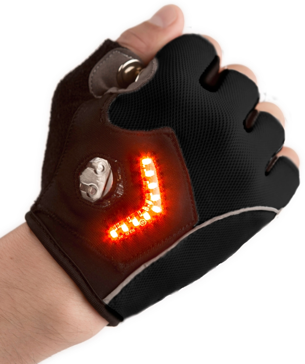 Zackees™ Turn Signal Gloves™, $90