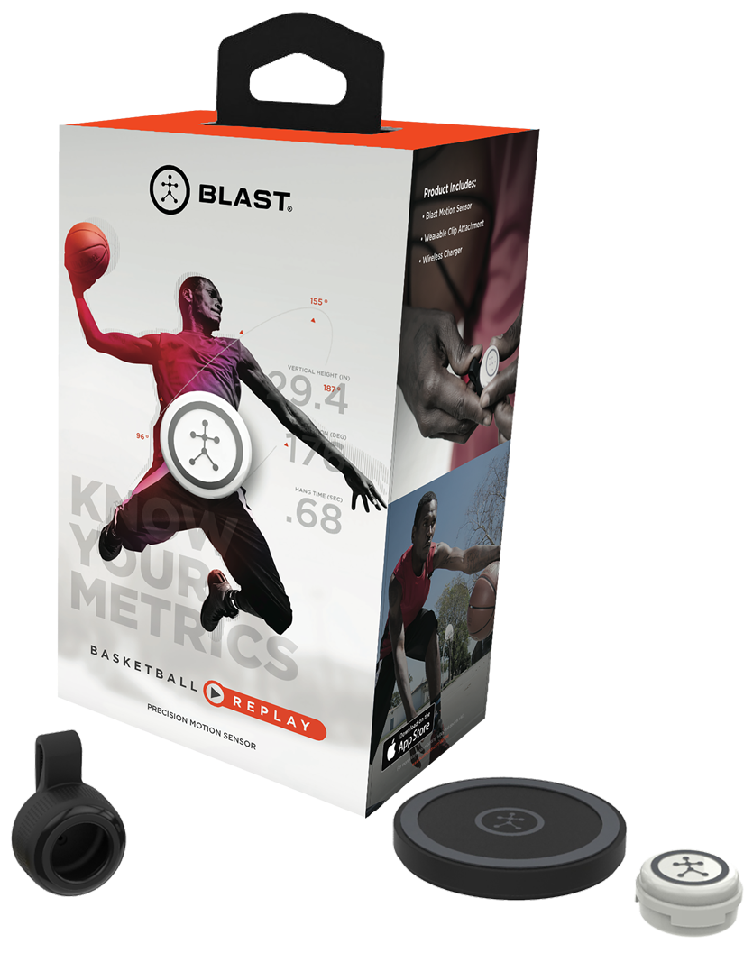 Blast Motion Basketball Replay, $150