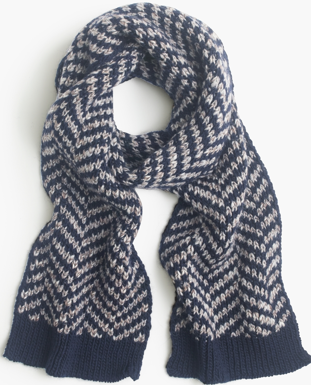 J.Crew Wide Chevron Scarf, $118