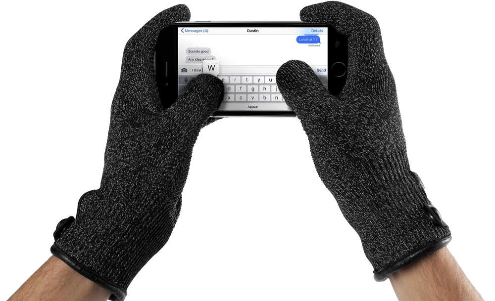 Mujjo Double Layered Touchscreen Gloves, $31