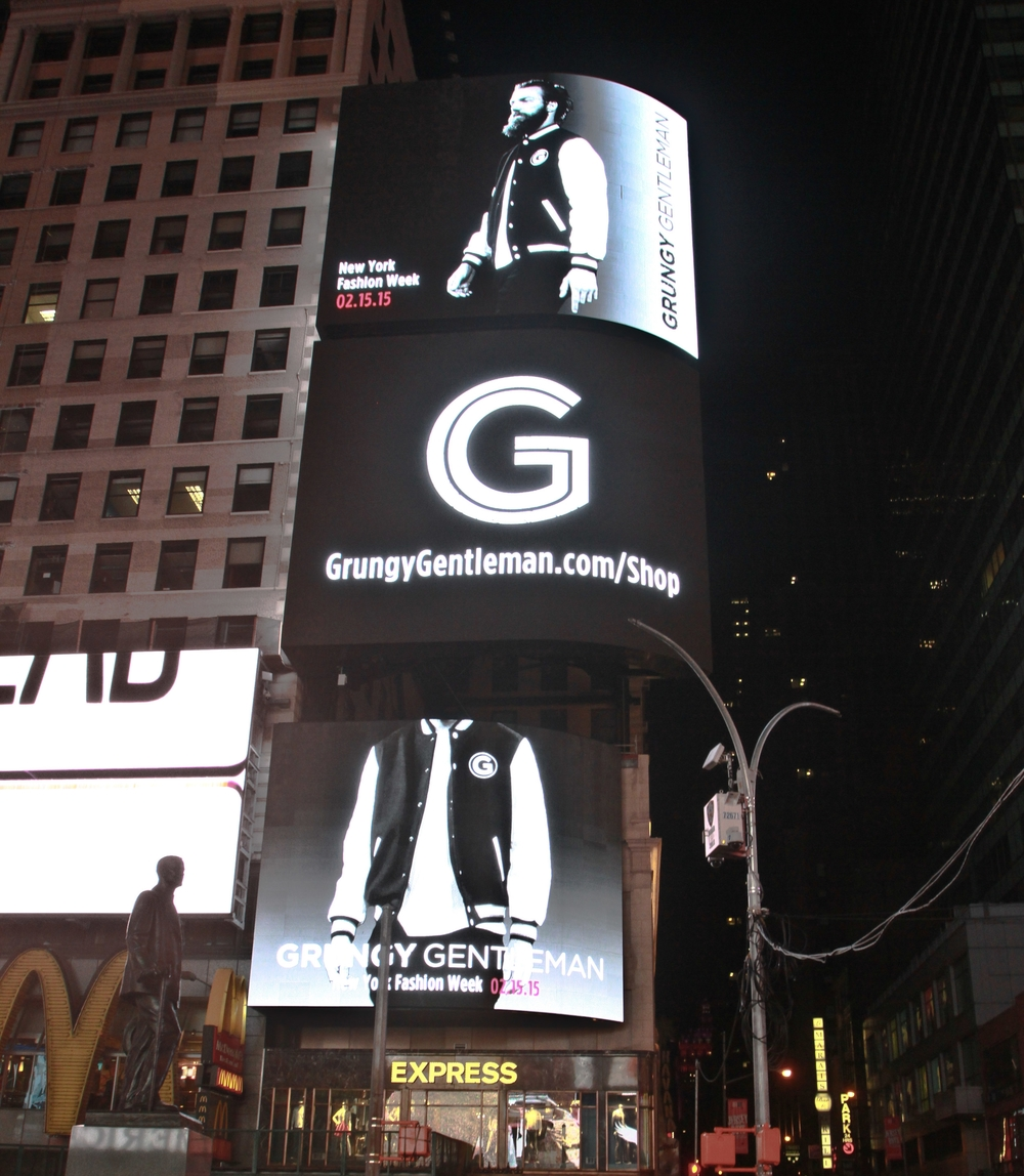 Grungy Gentleman Times Square NYC billboard 2.JPG