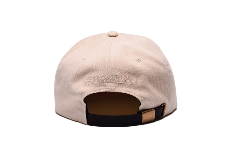 c76e220d1394fa Mitchell & Ness 6 Stripe FLEXIBLE Strap Back Hat. Grungy Gentleman ...