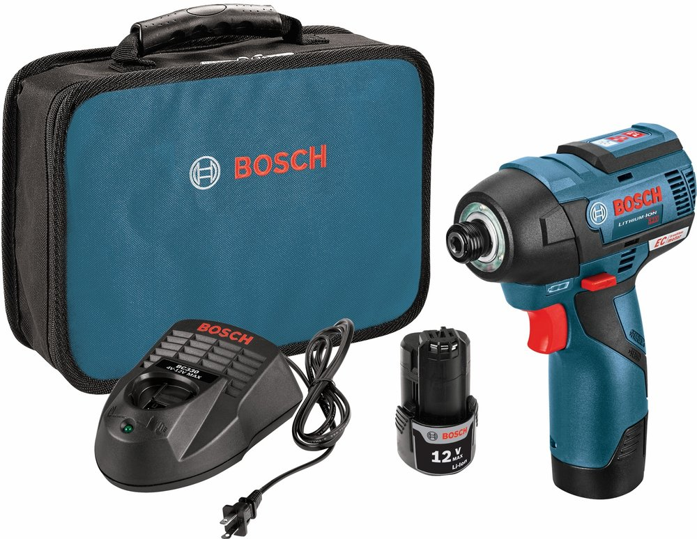Bosch PS42-02 12V Max EC Brushless Impact Driver Kit, $169