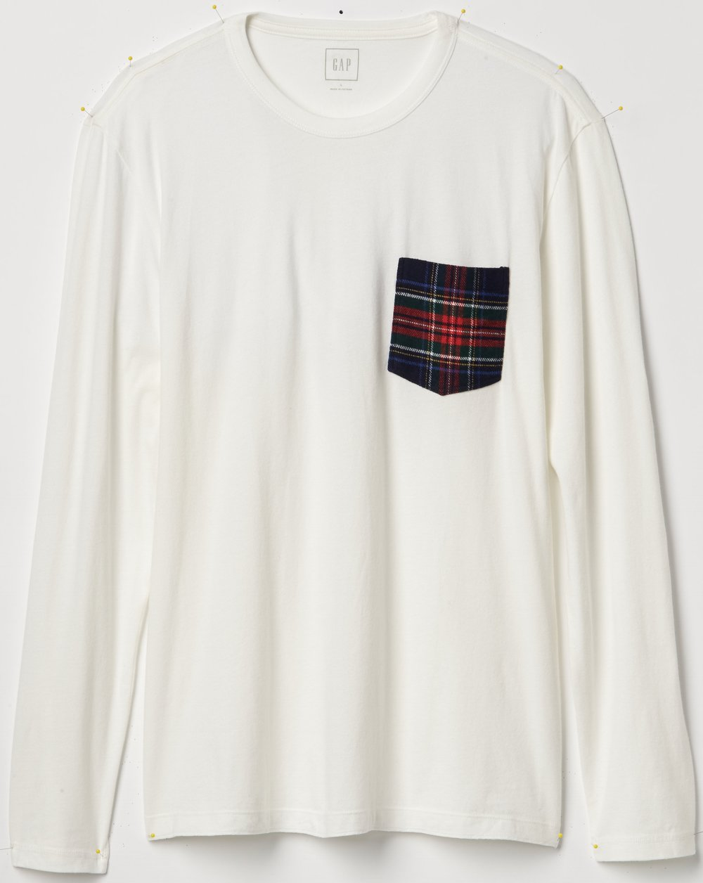 Gap x Pendleton Long Sleeve Pocket Tee, $14.98