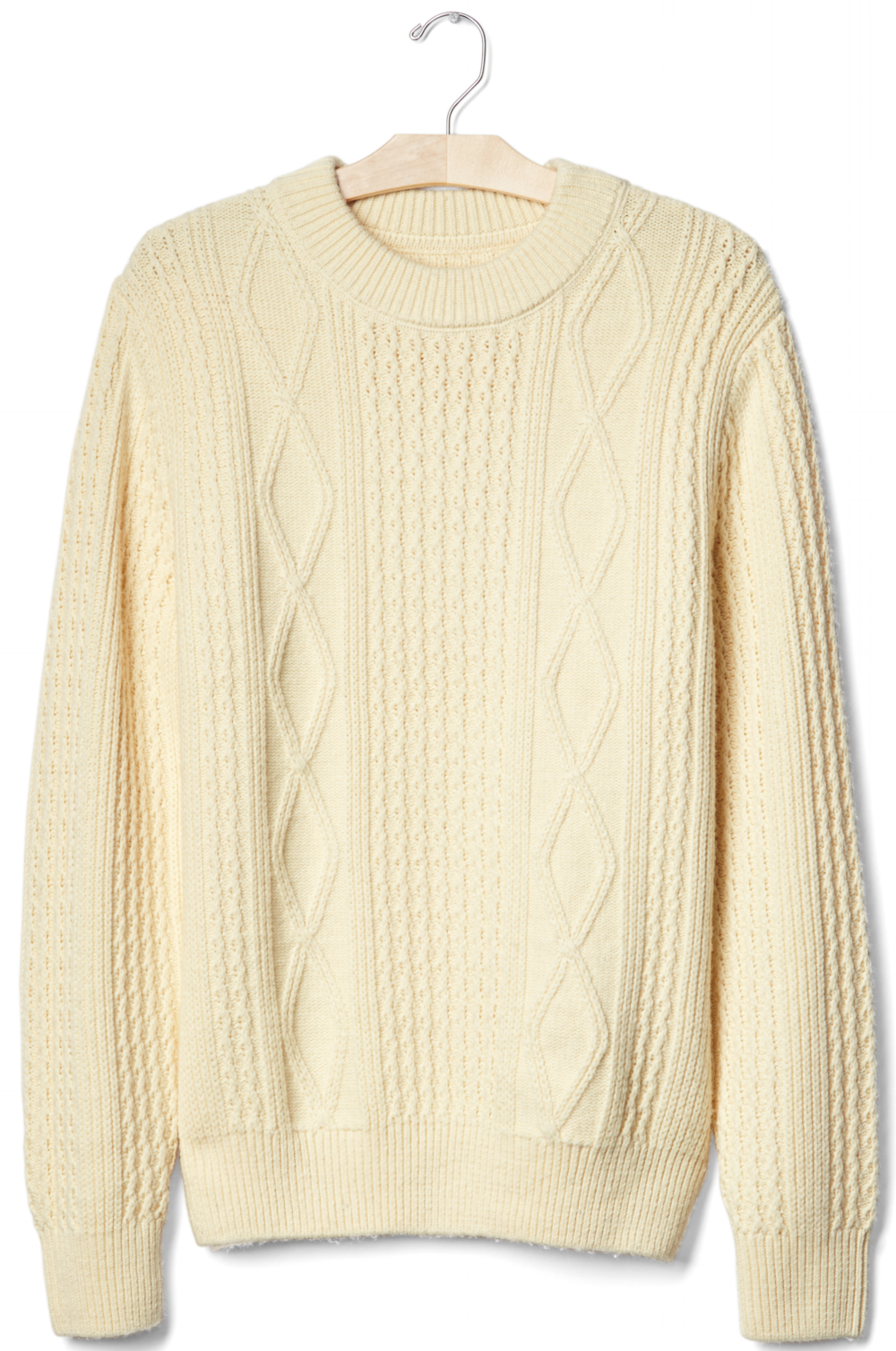 Gap Cable Knit Crew Sweater, $55.96