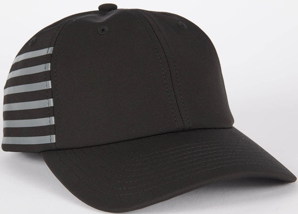 Grungy Gentleman x Mitchell & Ness 6 Stripe GAME CHANGER Performance Velcro Hat, $50
