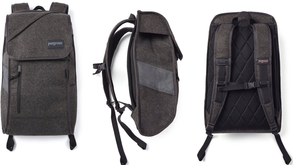 I Love Ugly x Jansport: Ironsight, $155