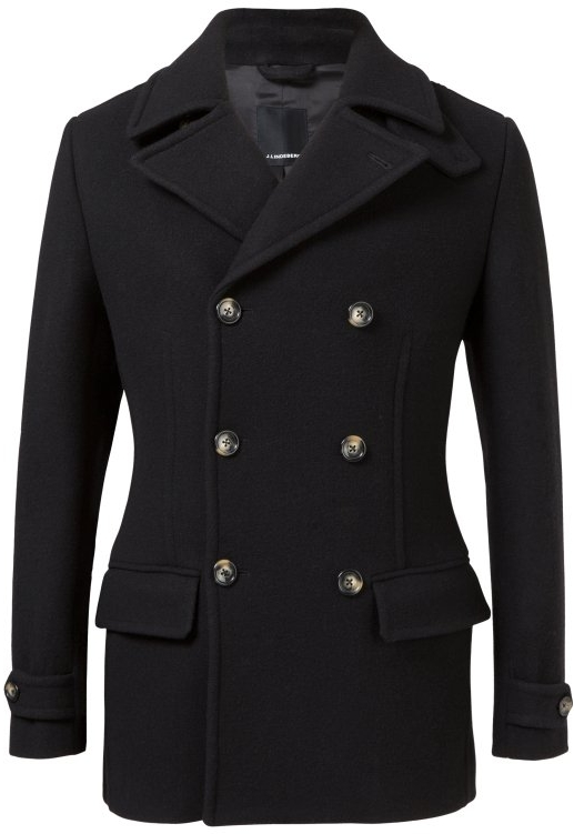 J.Lindeberg Wilton Wool Duffel Coat, $556
