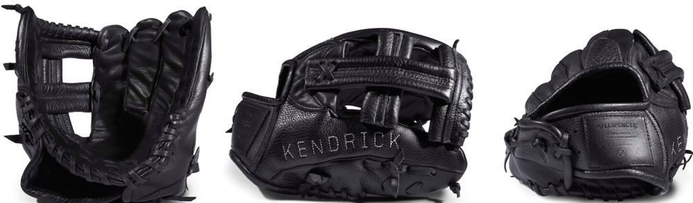 Killspencer Black Leather Baseball Glove, $1,350