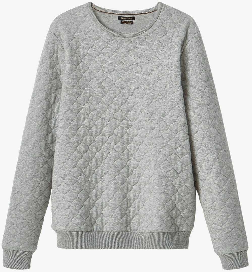Massimo Dutti Sweater with Quilted Detail, $89.50