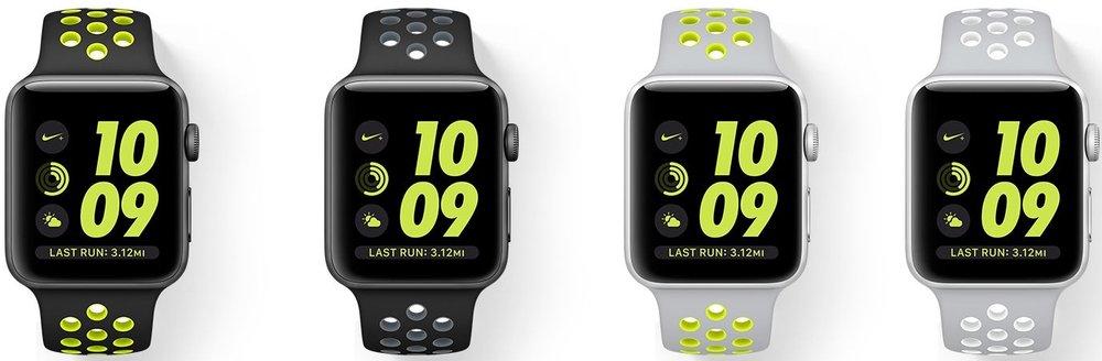 Nike x Apple Watch, $369 each