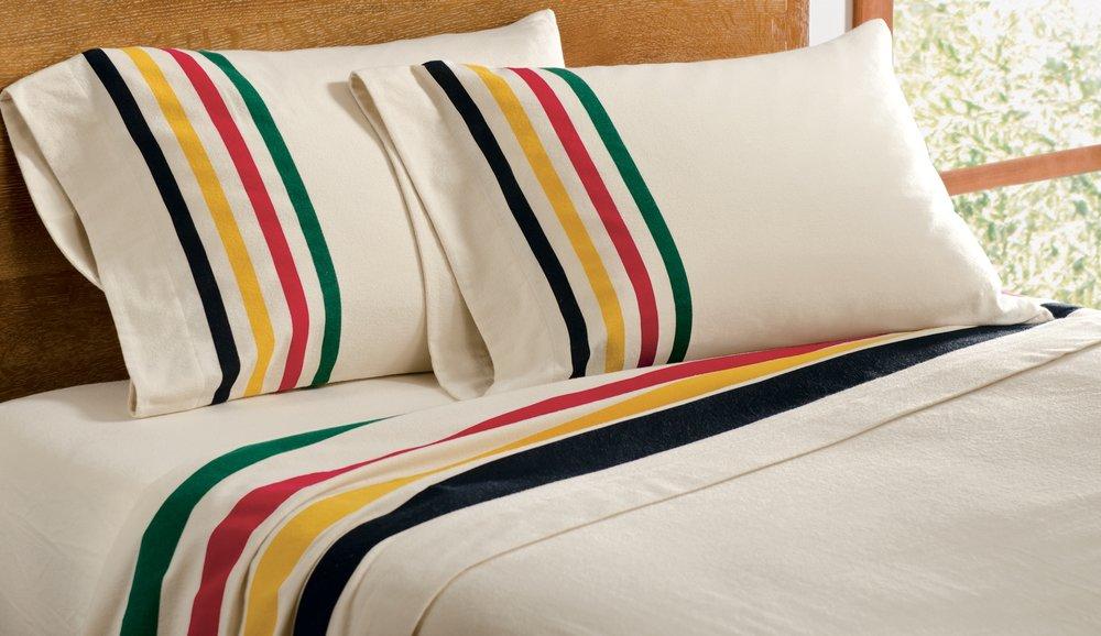 Pendleton Glacier Park Flannel Sheet Set, $119-$179