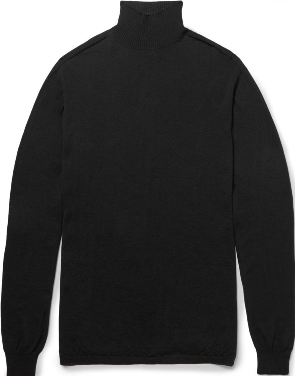 Rick Owens Oversized Wool Rollneck Sweater at Mr. Porter, $550