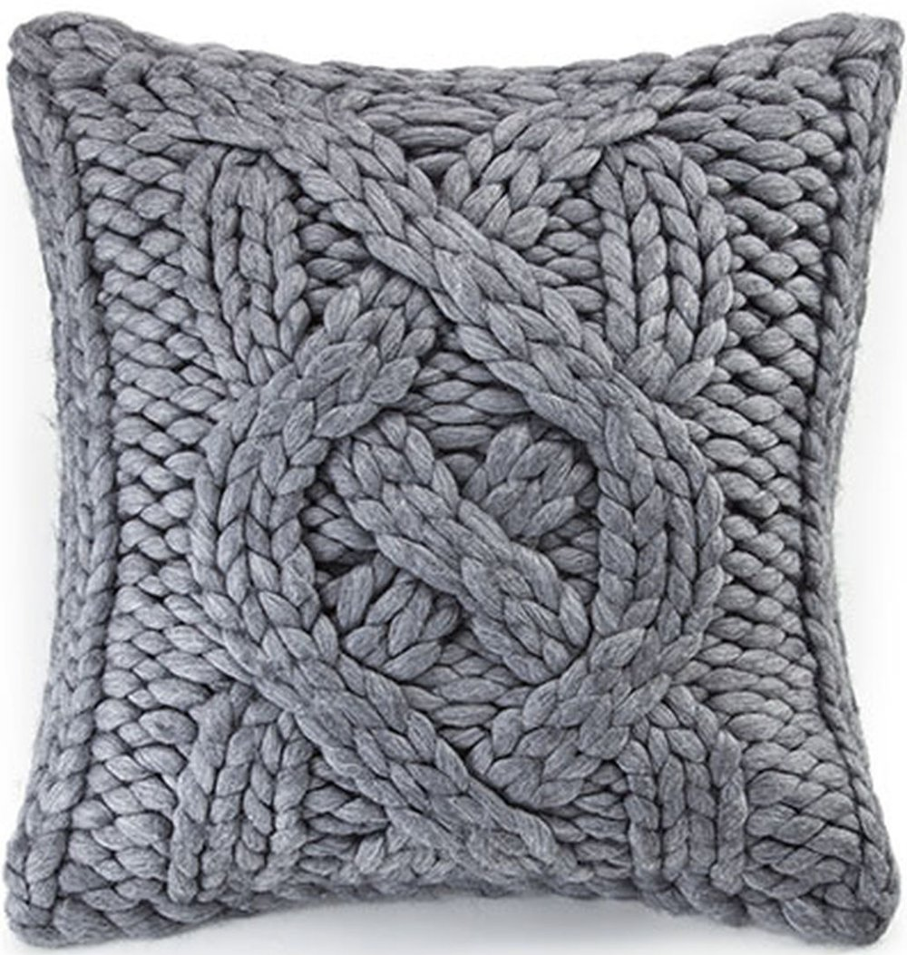 "UGG Oversized Knit Pillow 20"", $145"