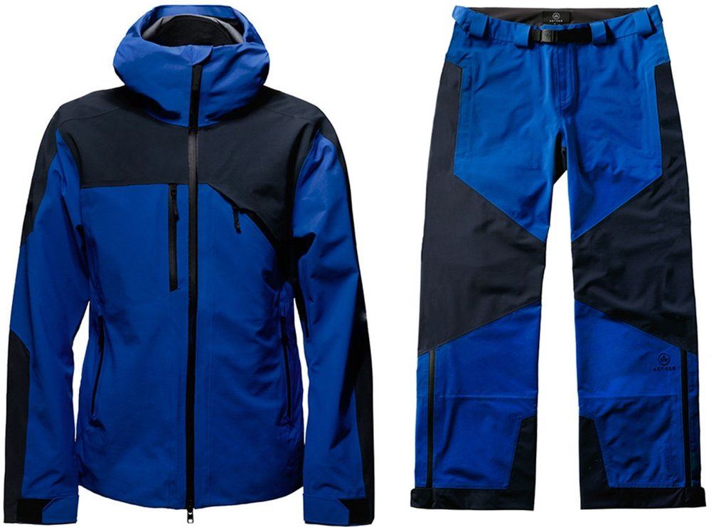 Aether Fusion Shell, $675 + Aether Fusion Snow Pant $425
