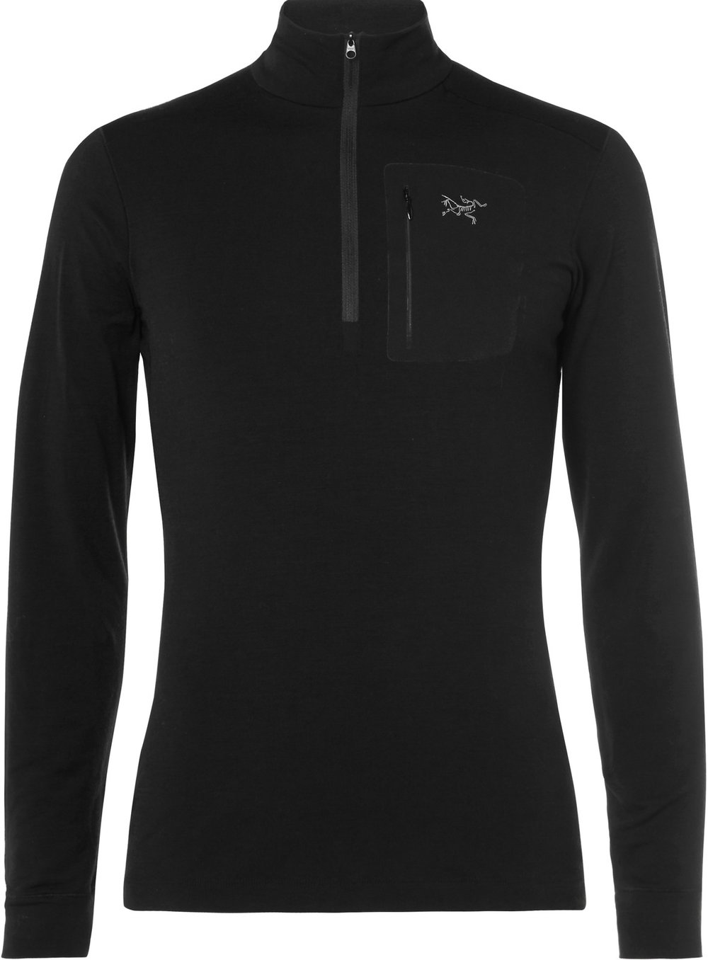 Arc'teryx Satoro AR Wool-Blend Half-Zip Base Layer, $140