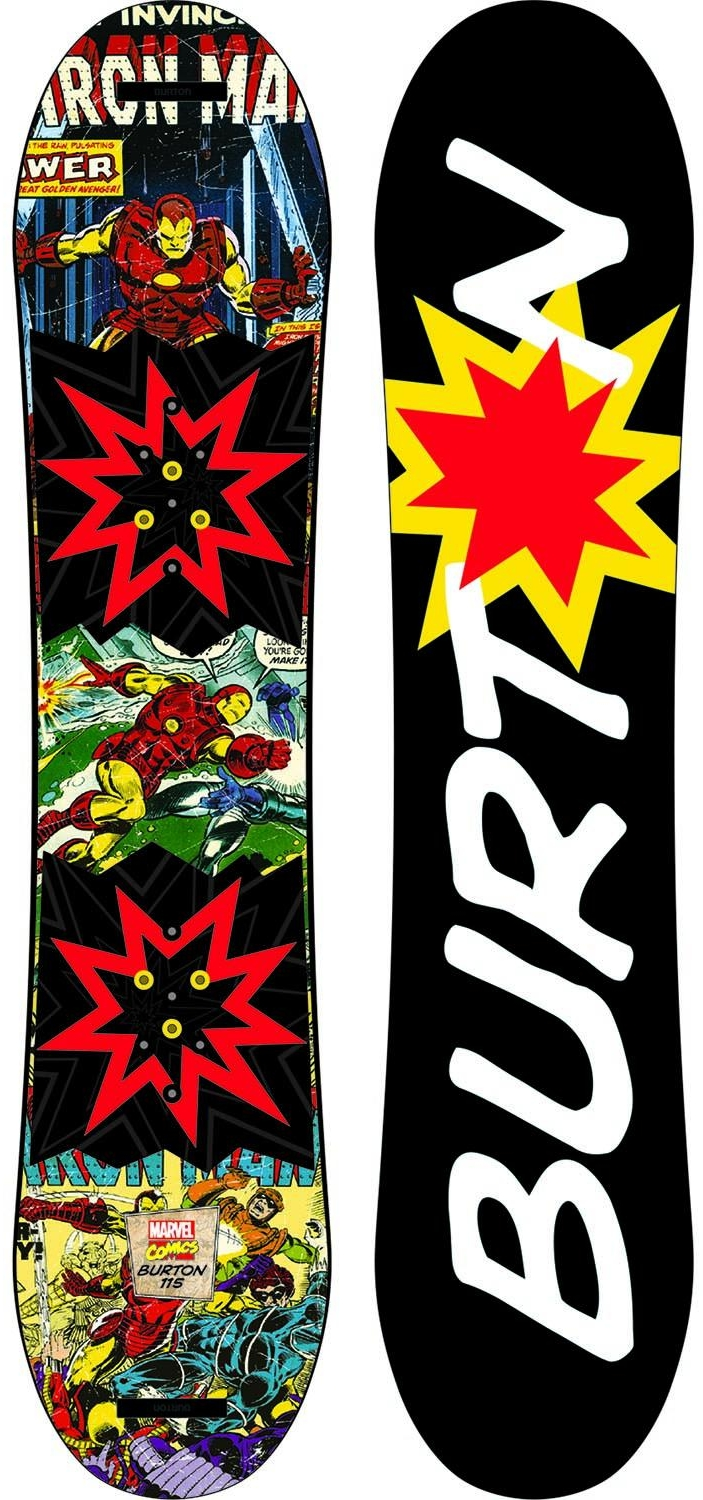 Burton x Marvel® Chopper LTD Snowboard, $229.95