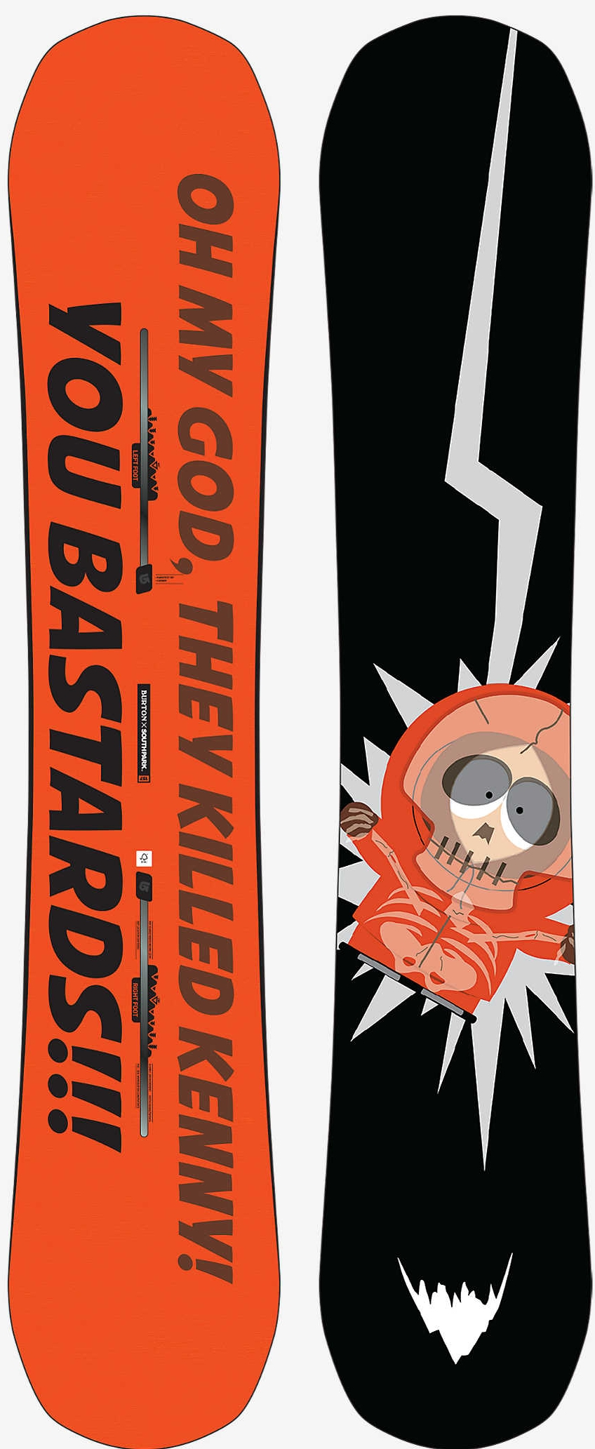 Burton x South Parkitect Snowboard, $499.95