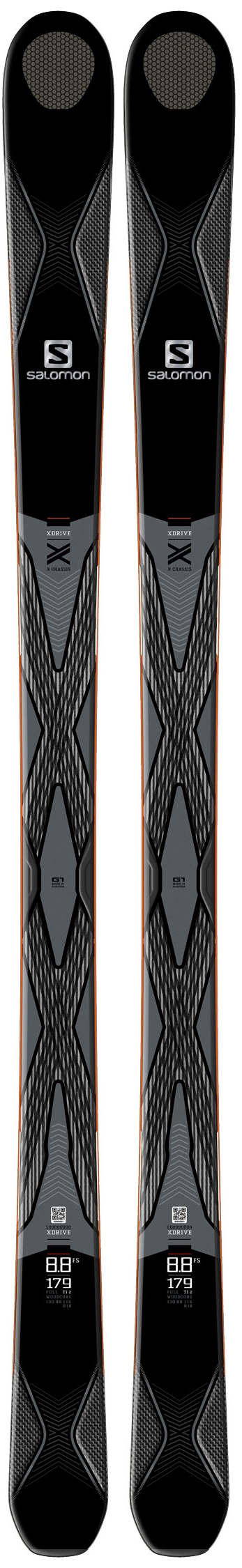 Salomon X-DRIVE 8.8 FS Skis, $699.95