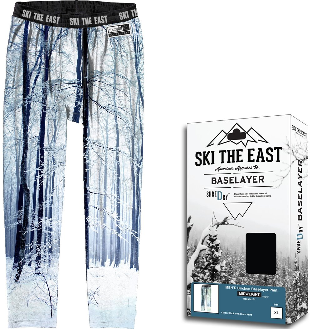 Ski The East Glades Baselayer Pants, $58