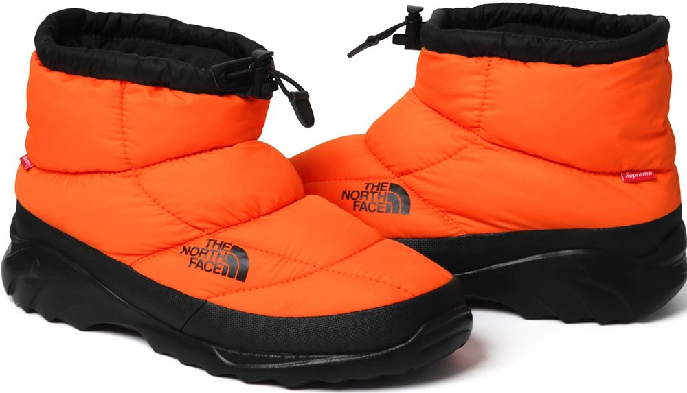 Supreme x The North Face Nuptse Bootie, $128