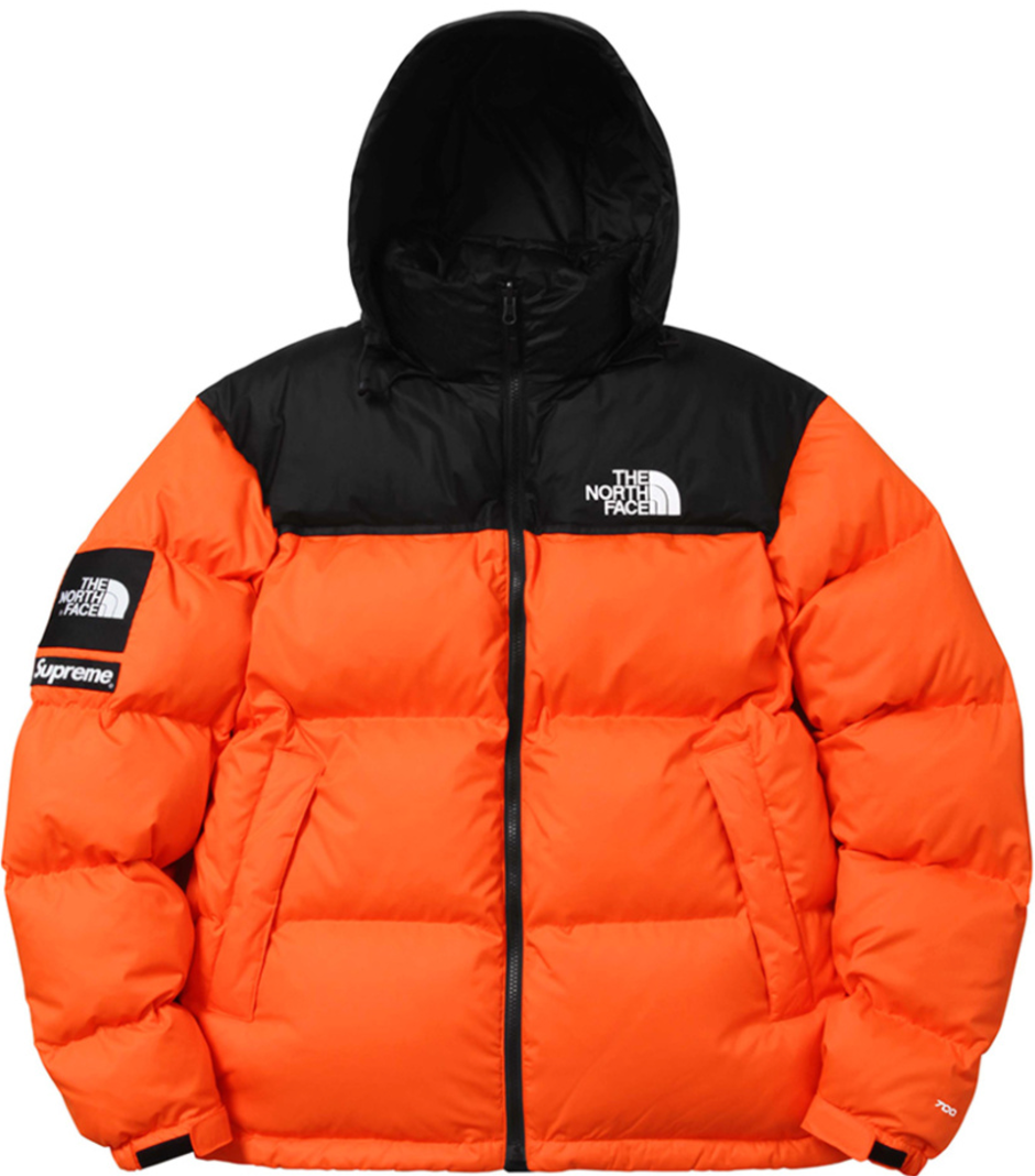 Supreme x The North Face Nuptse Jacket, $368