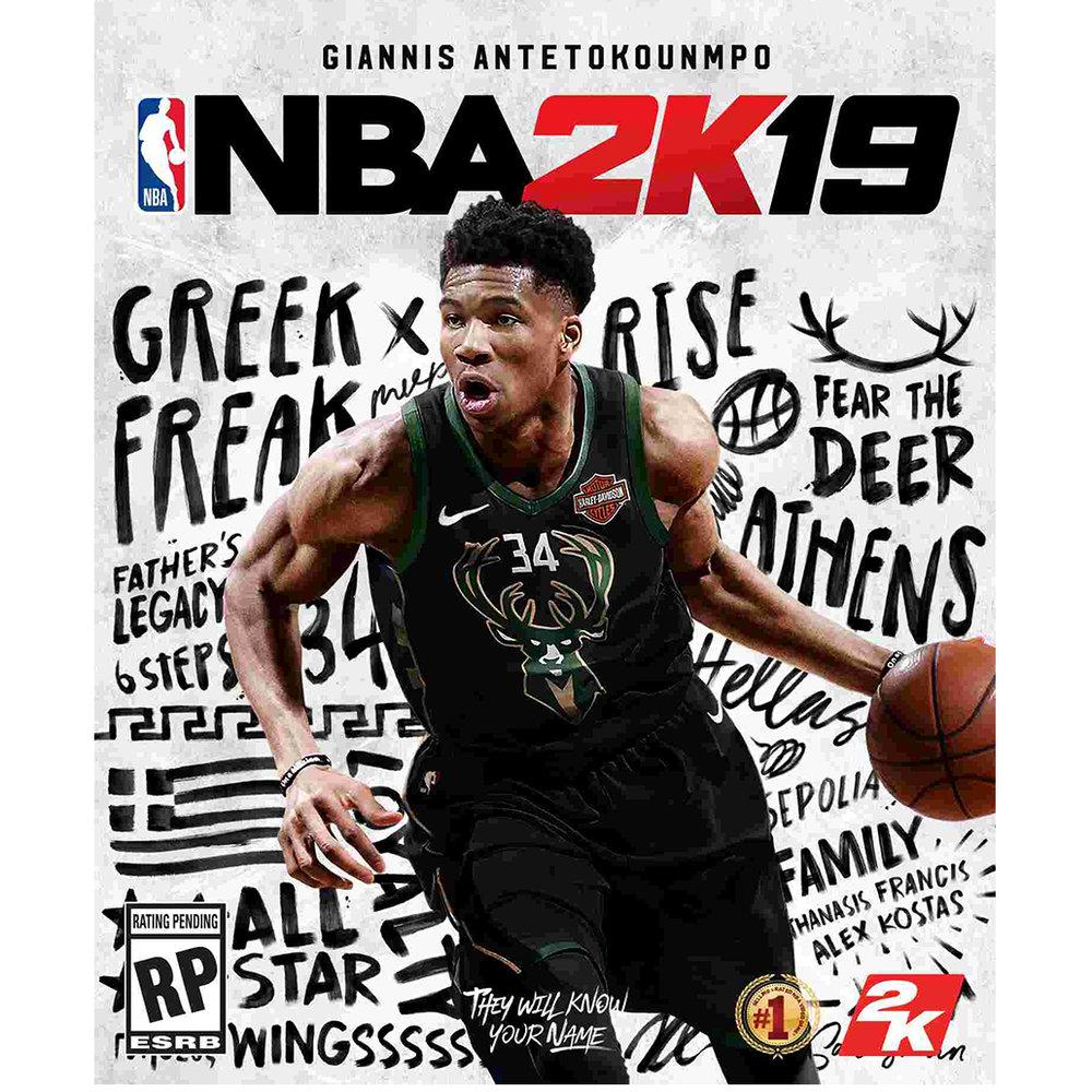 NBA2K19, $59.99