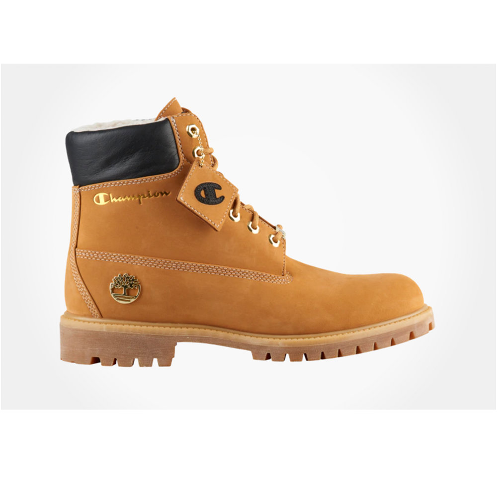 Timberland x Champion, $220 at Eastbay