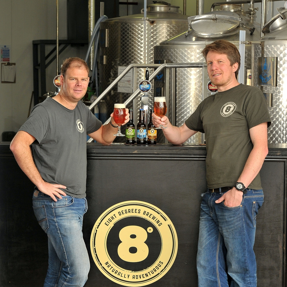 eight degrees brewers