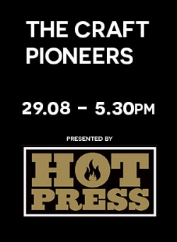 the craft pioneers talk august 29th 5.30pm