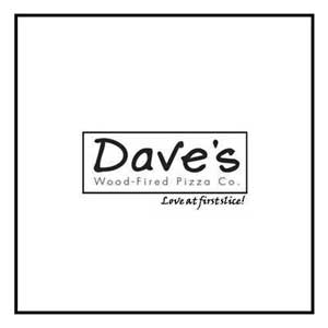 Dave's wood fired pizza