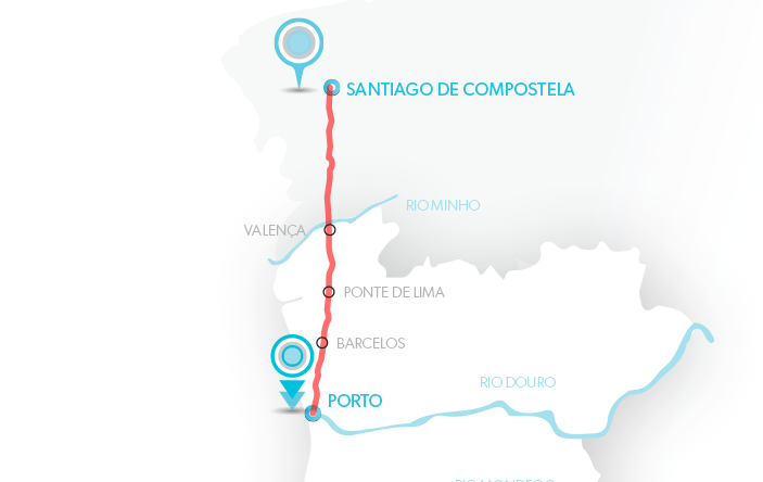 Porto - Compostela